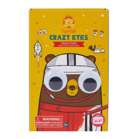 TigerTribe Crazy Eyes Colouring Set