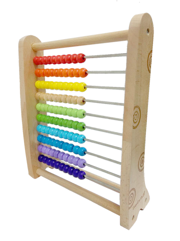 Bamboo Multi Colour Abacus
