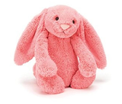 Jellycat small coral bunny