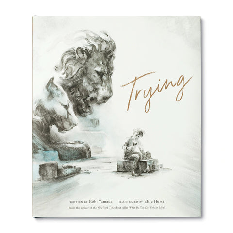 Trying - A book by Kobi Yamada