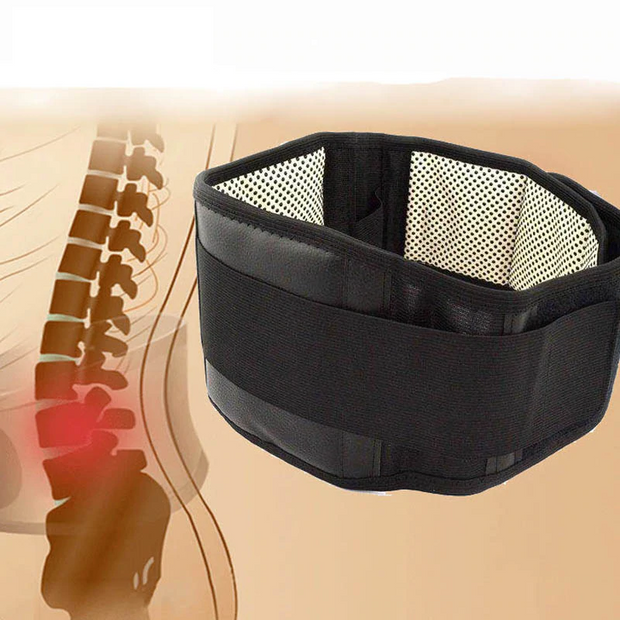 Self-heating Magnetic Back Belt