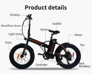 AOSTIR -  Electric Bike