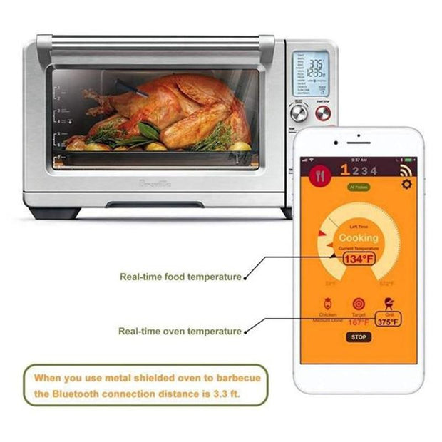 BBQ Wireless Bluetooth Thermometer