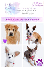 Load image into Gallery viewer, Peace. Love. Rescue. Collection
