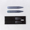 goTIELESS Metal Collar Stays - 2 Sets (Limited Time Offer)