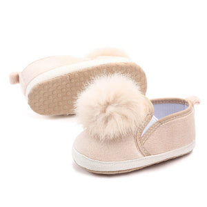 Baby Pompom Anti-slip shoes | Baby Accessories | THE ESSENTIAL |