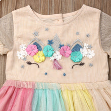 Load image into Gallery viewer, Flower Tulle Dress for Toddler and Girl | THE ESSENTIAL