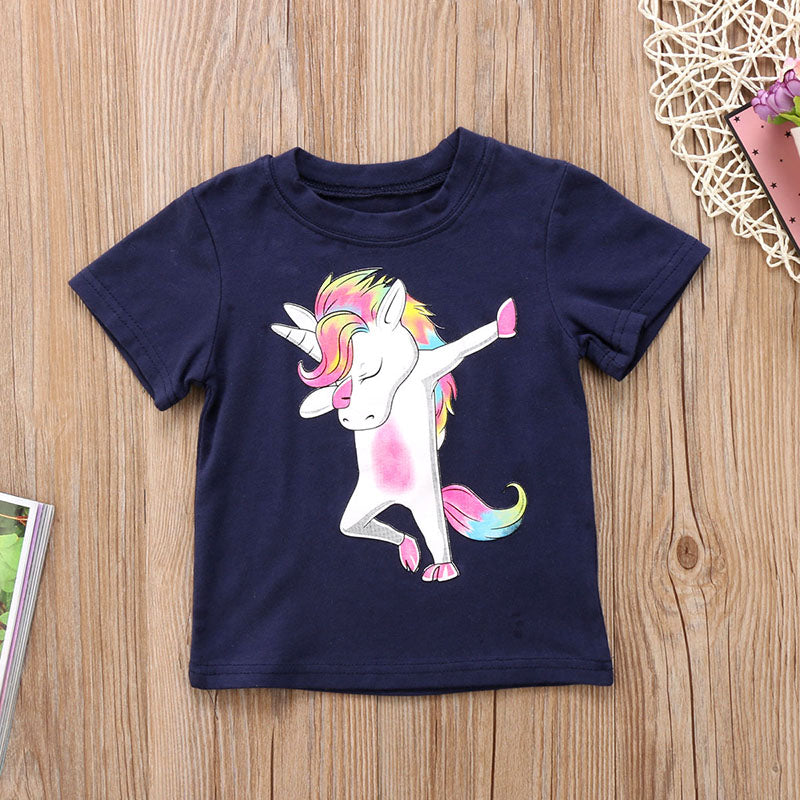 T-shirt  Unicorn Cartoon | Baby & Kids Clothing | The Essential