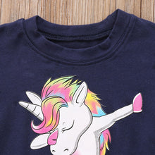 Load image into Gallery viewer, T-shirt  Unicorn Cartoon | Baby & Kids Clothing | The Essential