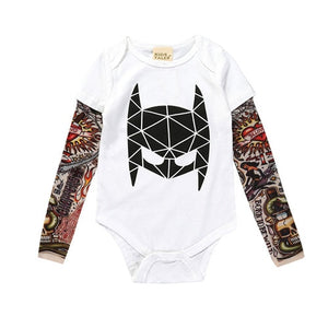Fashion Romper Long Sleeve Tattoo | Baby Clothes | The Essential