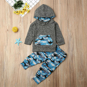 Cartoon Shark Set | Baby & Kids Cloth | Accessories | The Essential