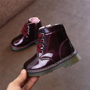 Leather Waterproof Martin Boots | Shoes | THE ESSENTIAL |