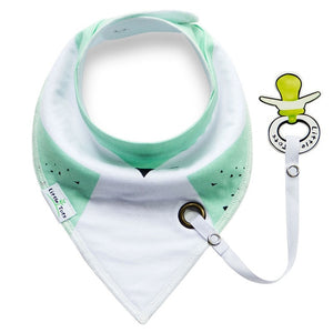 Baby Bib With A Soother Holder | Essentials | THE ESSENTIAL |