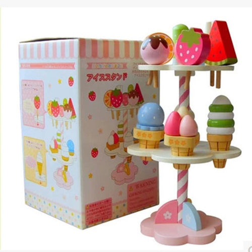 Wooden Ice Cream Toy Stand | Wooden | THE ESSENTIAL |