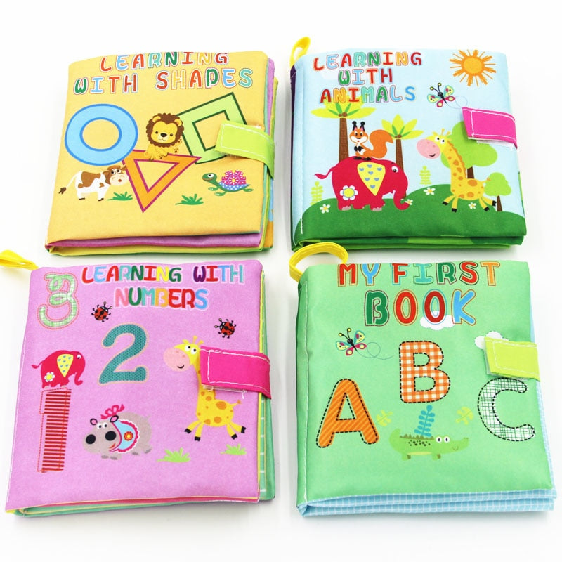 Baby Soft Cloth Books | Baby Toys | THE ESSENTIAL |