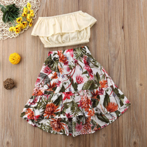 Ruffled Floral Outfits | Baby and Kids Clothing | The Essential