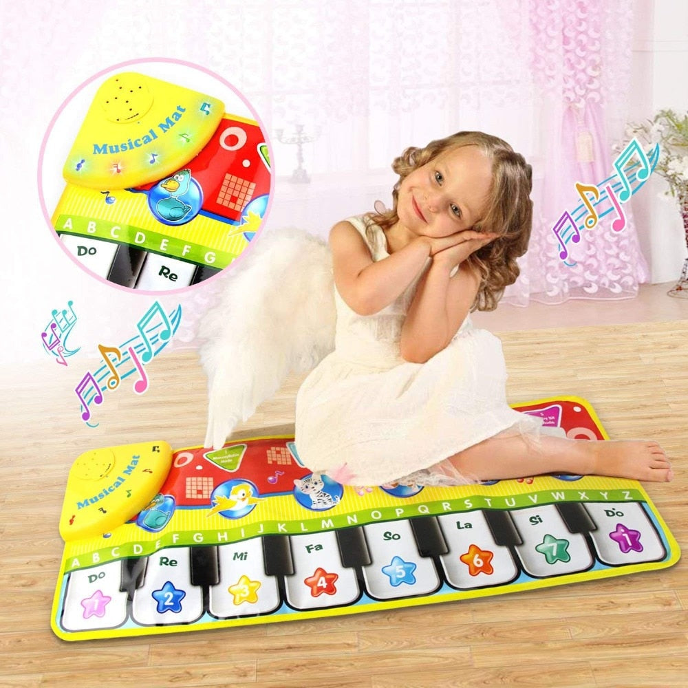 Baby Piano Music Play Mat| Baby Toys | THE ESSENTIAL |