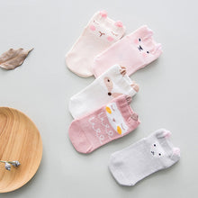 Load image into Gallery viewer, Animal Socks - 5 Pack | THE ESSENTIAL