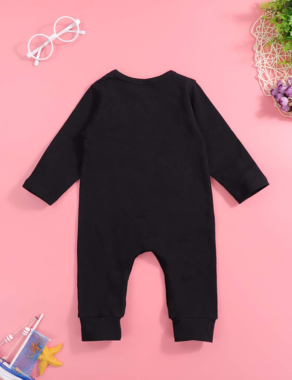 Long Sleeve Jumpsuit Baby Boy | The Essential