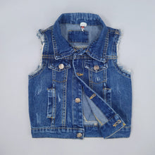 Load image into Gallery viewer, Denim Vest For Kids | Children & Toddler Clothing | The Essential