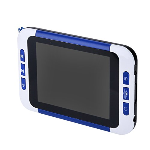 3. 5-Inch Portable Digital Magnifier - LCD Display, 2x To 32x Magnification, Three Color Modes, 32GB SD Card Slot, 1050mAh