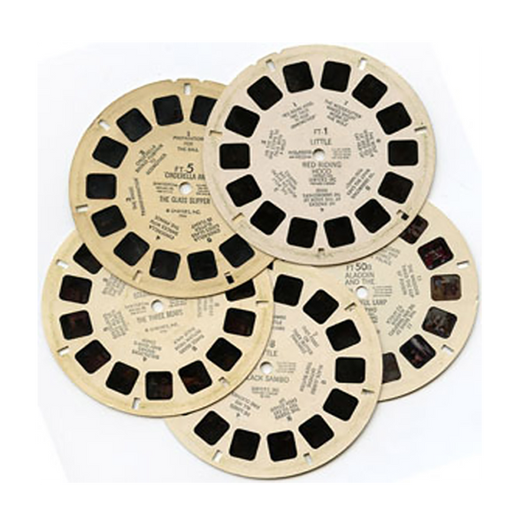 US SCENIC WEST - 5 Assorted Reels - Vintage Classic View-Master