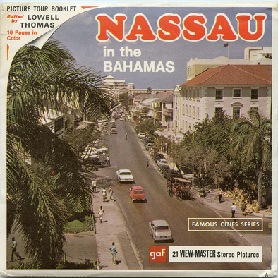 NASSAU in the Bahamas - B026 Vintage Classic View-Master 3 Reel Packet - 1960s views