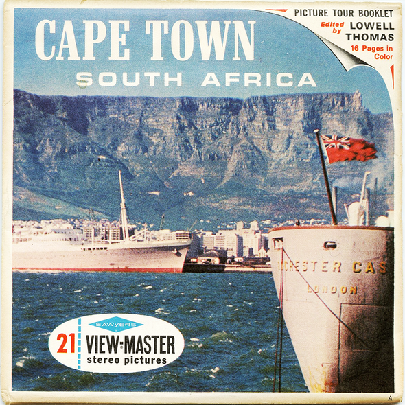 View-Master - Africa - Cape Town -South Africa