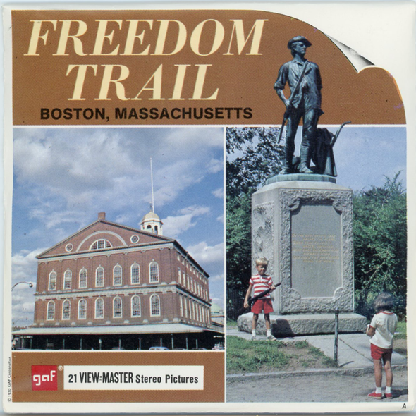 View-Master - Art and Architecture - Freedom Trail