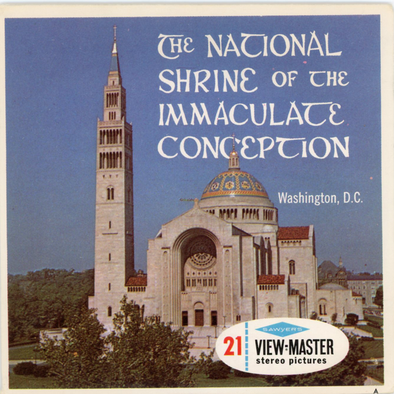 View-Master - Art and Architecture - The National Shrine of the immaculate Conception