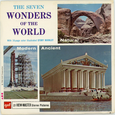 View-Master - Art and  Architecture - The Seven Wonders of the World