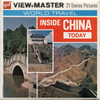 Inside China Today - B255 - Vintage Classic View-Master 3 Reel Packet - 1970s views