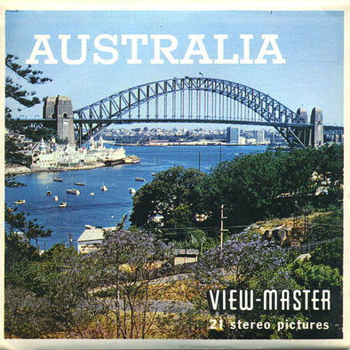 ViewMaster Australia - Vintage Classic - B288 - 3 Reel Packet - 1960s views
