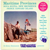 Maritime Provinces - A030 - Vintage Classic View-Master 3 Reel Packet - 1950s views