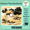 Ontario Vacationlands  - Vacationland Series - Vintage Classic View-Master - 3 Reel Packet - 1950s