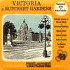Victoria & Butchart Gardens - Canada - Vacationland Series - Vintage Classic View-Master - 3 Reel Packet - 1950s views