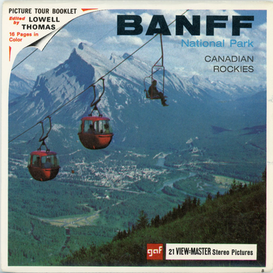 View-Master - Canada - Banff - National Park