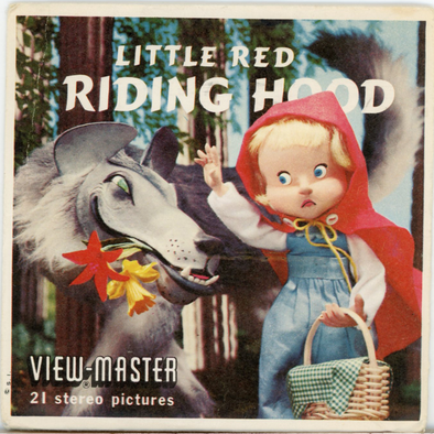 View-Master- Cartoons - Little Red Riding Hood