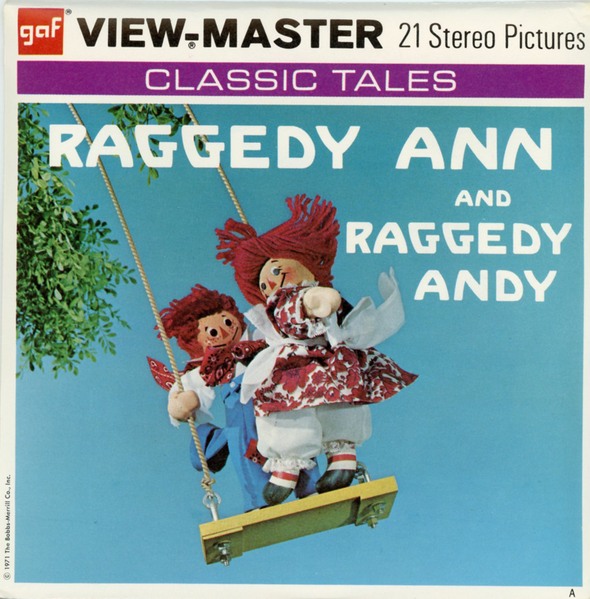 View-Master - Cartoons- Raggedy Anny and Andy