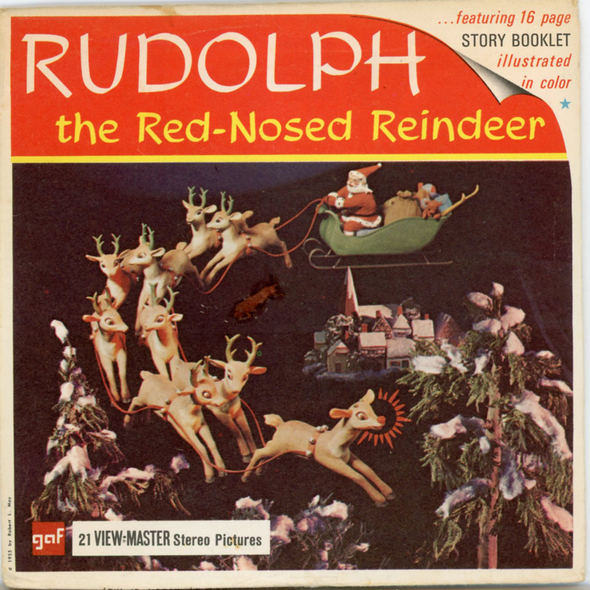 View-Master - Cartoons - Rudolph - the Red-Nose Reindeer