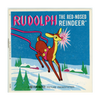 Rudolph - the Red-Nosed Reindeer - B870 - Vintage Classic View-Master - 1950s Views