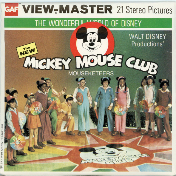 View-Master - Cartoons - The New Mickey Mouse Club