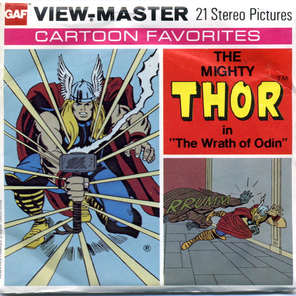 View-Master -  Super Heroes - The Mighty Thor