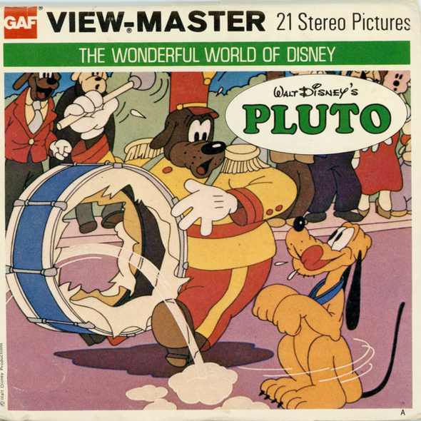 View-Master - Cartoons - Pluto