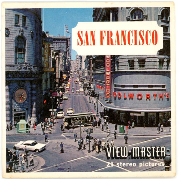 View-Master - Cities - San Francisco