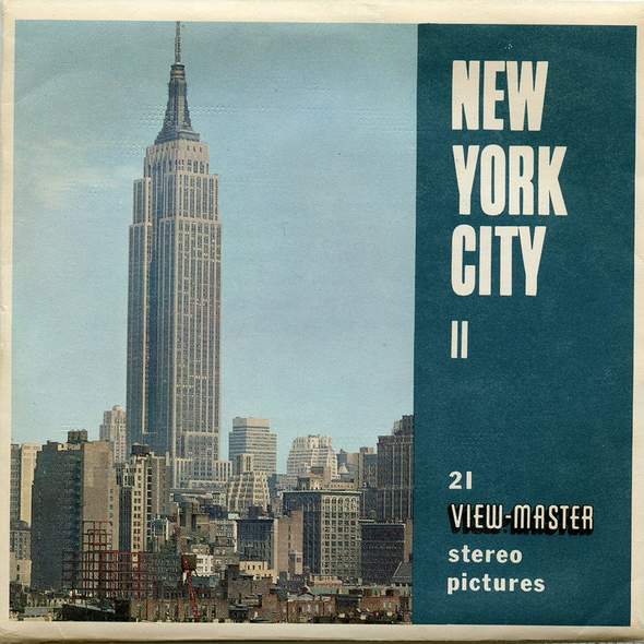 View-Master - Scenic - East - New York City II