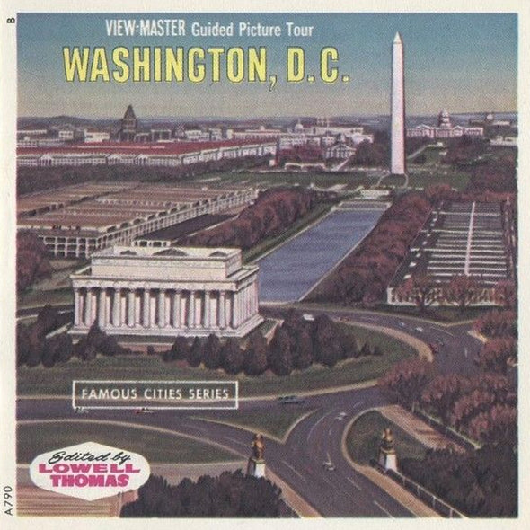 ViewMaster - Washington - A790 - Vintage - 3 Reel Packet - 1960s views