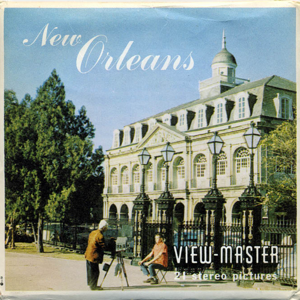 New Orleans - Louisiana -A946 - Vintage Classic View-Master - 3 Reel -Packet - 1960s Views
