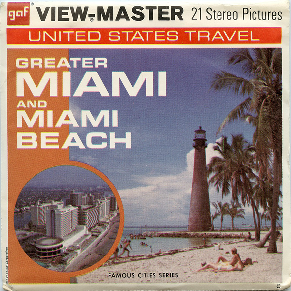 View-Master - Cities - Greater Miami and Miami Beach