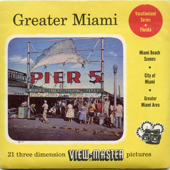 View-Master - Cities - Greater Miami - Vacationland Series